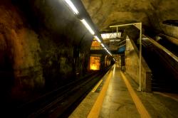 Rio underground rail, Rio, Brazil