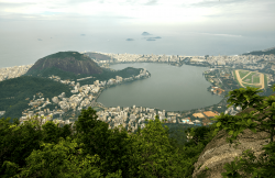 View from Christ the Redeemer, Rio, Brazil
