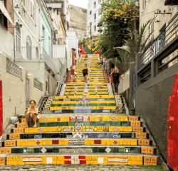 'Selaron Steps, Rio, Brazil