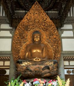 Buddah, Byo-Tedo-Temple.-Oahu