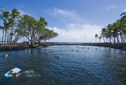 Natural tide pool, Big Island
