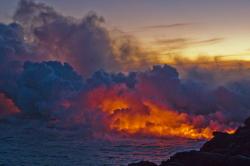 Volcano eruption-Big-island-Hawaii