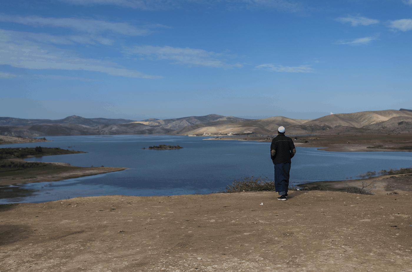 Moroccan lake