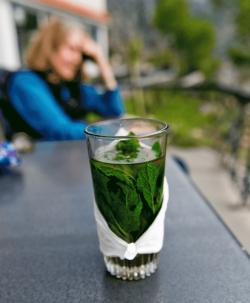 Chefchaouen mint-tea