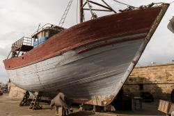 Essaouira boat