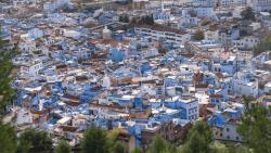 Overlooking Chefchaouen (Blue City)