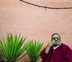 Marrakech shop owner