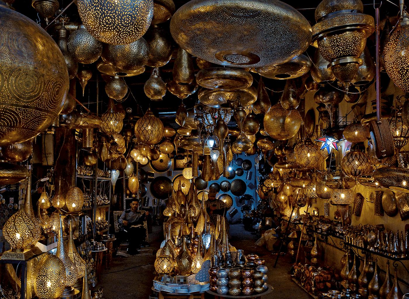 lamp-shop-Marrakech medina