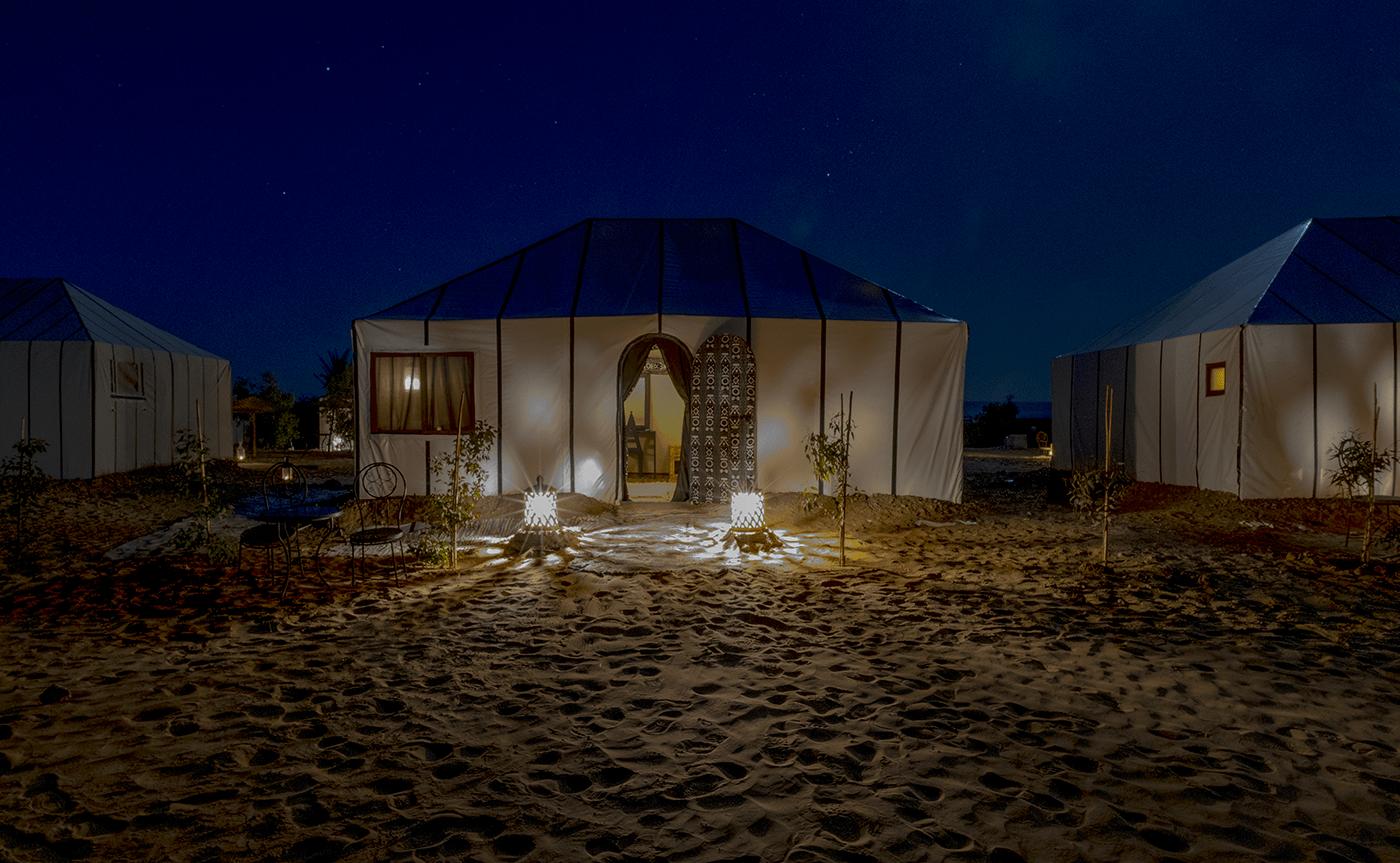 Our Sahara desert tent