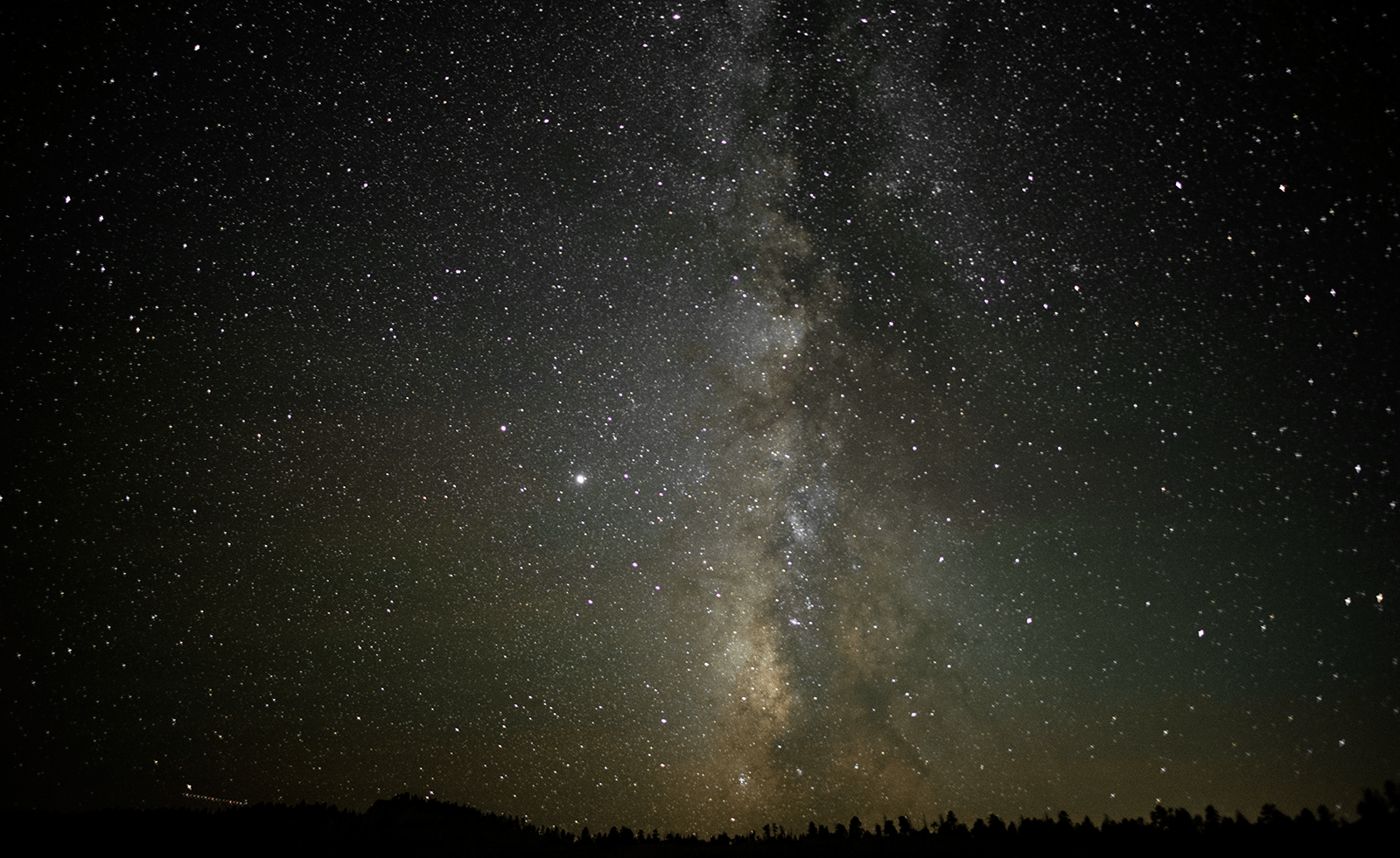 Milky Way as seen from Bryce Canyon