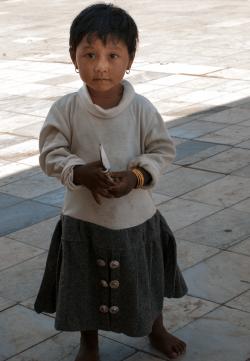 Young girl, Rangoon