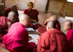 Inle lake monks