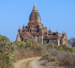 Countryside Temple,  Bagan