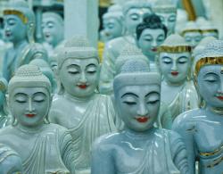Buddha-factory, Rangoon
