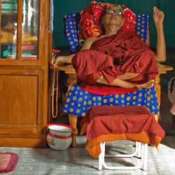 Sleeping-monk, Began