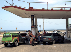 Gas station, Havanna Nuevo