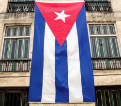 Cuban flag, Havanna