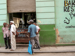 Bar scene, Havanna