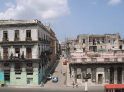 Havanna neighborhood,  ariel view
