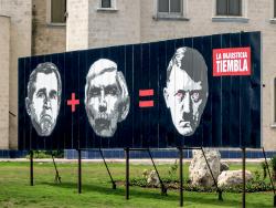 Bush equals Hitler, Havanna