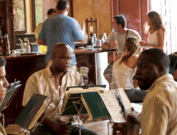 Bar-restaurant musicians, Havanna
