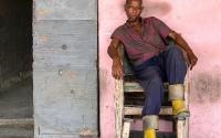 Man on chair, Havanna