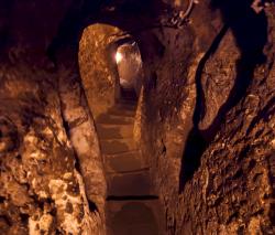 Hittite underground cave welling,  Nevşehir Province, Turkey
