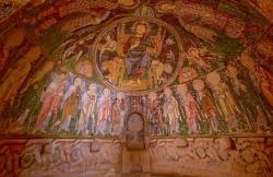 Christian cave church, Cappadocia, Turkey