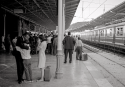 Istanbul rail station (Orient Express at right)