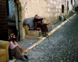 Old women, Cappadocia, Turkey
