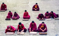 Monks_Sekim India