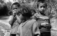 Hill-Tribe kids--Thailand and-Laos-border