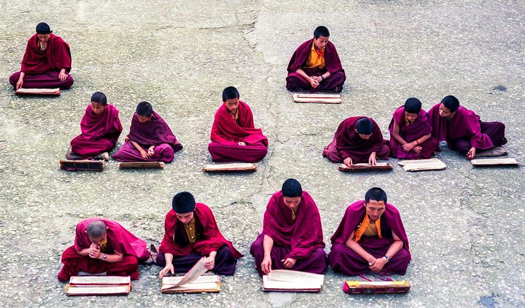 Monks_Sekim India