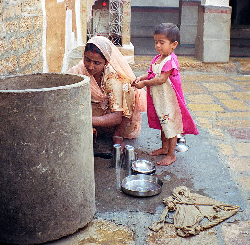 Woman and child, Rajasthan, India