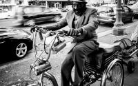 Bicycle man, Oakland