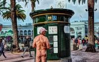 Naked man, SF