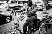 Bicycle man, Oakland
