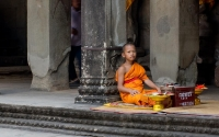 Novice Monk Angkor Wat