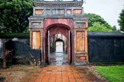 Old palace gate, Hoi