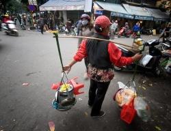 Street merchant, Hanoi