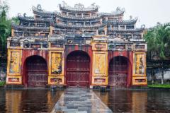 Old palace gate, Hoi